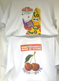 полноцветная сублимационная печать на футболках.